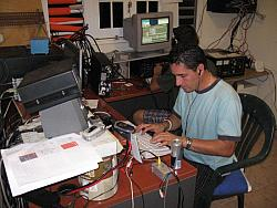 NP4Z running 40m at start of CQWW CW 2006